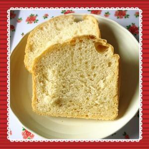 今度こそっ!! ホームベーカリーで小麦粉パンに挑戦^^