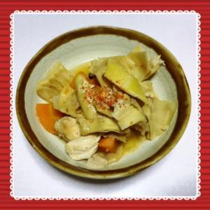 タケノコの煮物^^@はっぱ食堂