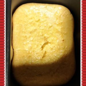 ホームベーカリーでチーズケーキを焼いてみた!@はっぱ食堂