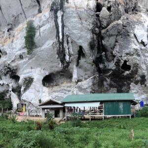 ミャンマー探検記(1)~白い崖の村でテント暮らし