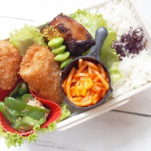 ミルフィーユ豚カツとサバ西京焼き弁当
