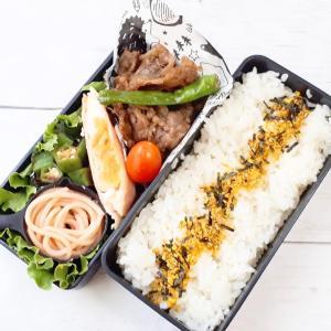 牛肉しぐれ煮弁当と貞子