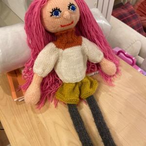 アルネ&カルロスの編み人形、つづき①