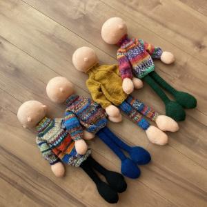 アルネ&カルロスの編み人形、つづき③