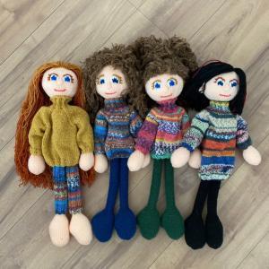 アルネ&カルロスの編み人形、つつぎ⑤