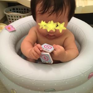 赤ちゃんとのお風呂時間が楽しくなるアイテム。