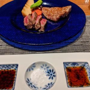 個室で銀座コース料理ステーキ