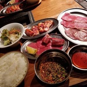 外ごはん:大盛り焼肉ランチ@熟成焼肉 肉源(六本木)