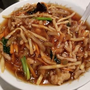外ごはん:搾菜肉絲麺@ヤンヤン(東銀座)
