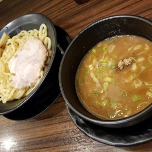外ごはん:濃厚魚介辛つけ麺@築地家
