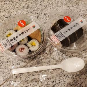 家ごはん:セブンのカップ寿司がちょうどいい