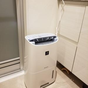 新入り除湿器の威力