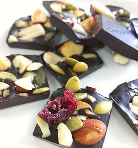 糖質オフ ミックスナッツチョコ~砂糖不使用