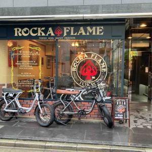 ROCKA FLAME旗艦店にお邪魔してきました♪