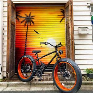 早速、貴重なファットバイクが納車となりました!!
