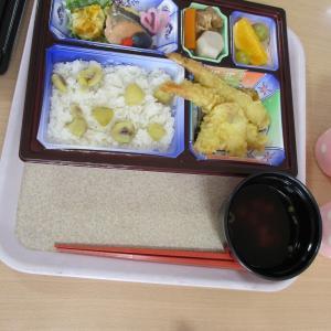 秋の味覚!!美味しい栗ご飯(さわやか海響館)