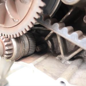 通勤アドレスのセルモーター粉砕 そして交換