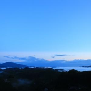 TDMで虎ヶ峰まで走る そして雲海