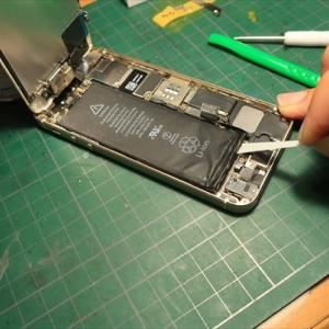 Griso朝駆け15℃ そしてiphone5sバッテリー交換