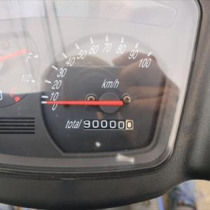 通勤アドレス9万キロ そしてトレーサー9