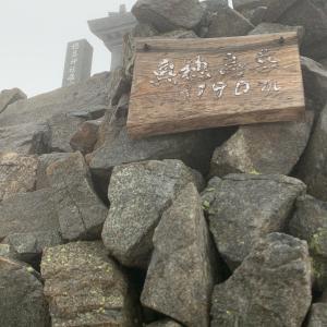 画像追加しました!  ブロッケンなど、山の日   3190m   奥穂高岳山頂から