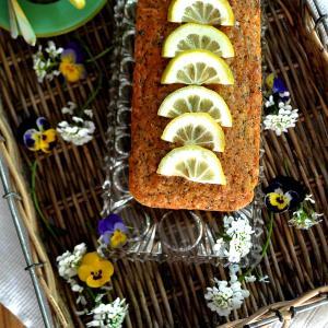 レモンとけしの実のケーキ(ヴィーガン)