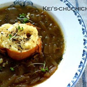 フランス風オニオンスープ