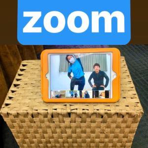 zoomでお家トレーニング