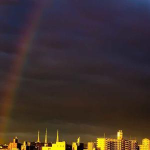 この間の虹