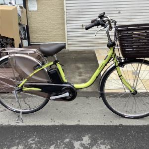 パナソニック電動アシスト自転車 ビビDX/ピスタチオ 入荷しました