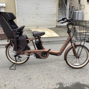 パナソニック子乗せ電動アシスト自転車 ギュットアニーズDX