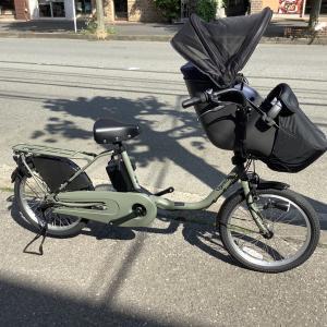 子のせ電動アシスト自転車 ギュットクルームDX 入荷しました