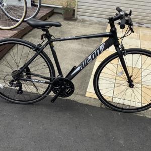 新車 エアーオンⅡ クロスバイクの入門モデル、入荷しました