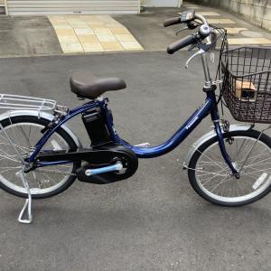 新車「ビビ・L・20 ファインブルー」 パナソニック電動アシスト自転車