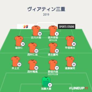 JFL 第23節 ヴィアティン三重vsソニー仙台FC(M206)