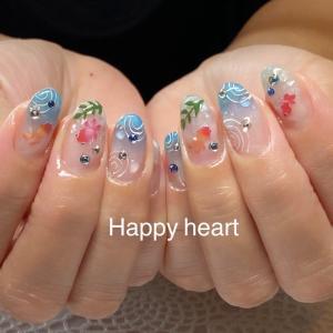 ネイルサロン岐阜市Happy heart ネイル
