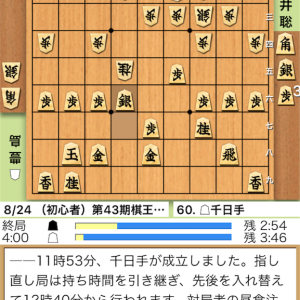 豊島将之八段🆚藤井聡太四段の結果は?