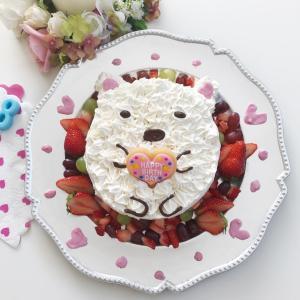 【すみっコぐらしの誕生日ケーキ♡】