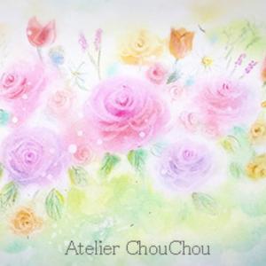 ⭐︎初めて描く薔薇、チューリップなど、