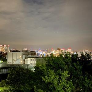 ☆横浜の丘から夜景を見下ろせば…
