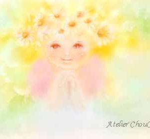 ☆祈りの花天使~パステル