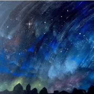 ☆夜空の星たち〜パステル