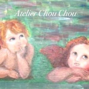 ☆今日は油彩で天使や妖精を描こう~