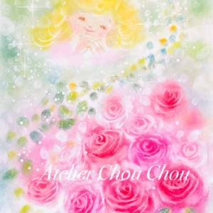 ☆パステルレッスン〜Chou Chou作「薔薇と天使」