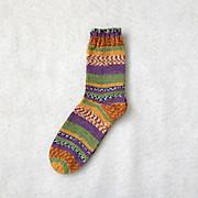 初めて靴下を編んだのは。。。