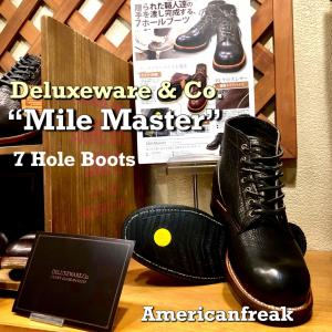 """Deluxeware 7Hole Boots """"MileMaster"""""""