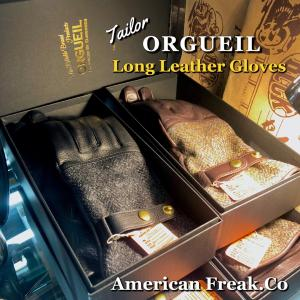 ORGUEIL Leather Long Glove