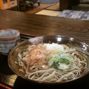 福井市「すいこう」でおろし蕎麦。
