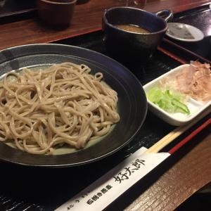 勝山市「好太郎」でおろし蕎麦。