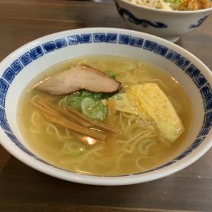 福井・片町でシメのラーメン「マー坊ラーメン」